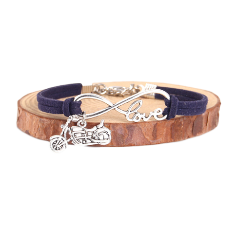 Image of Love Motorcycles Charm Bracelet