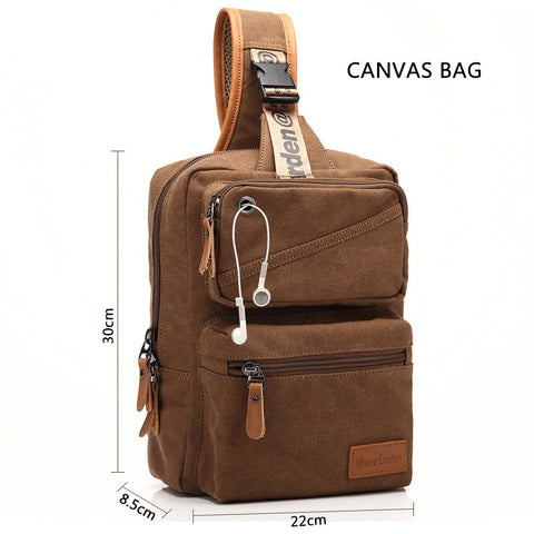 Durable Canvas Shoulder Bag