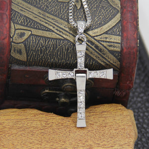 Necklaces - Cross Pendant And Necklace Set