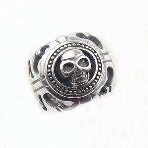 Rings - Skull Head Biker Ring