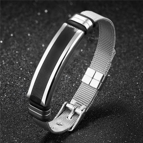 Image of Stainless Steel Mesh Bracelets