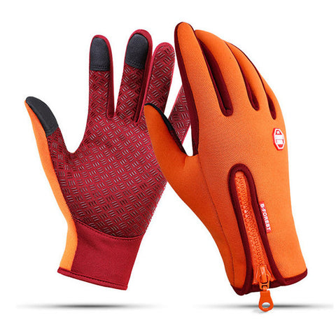 Waterproof Fleece Touch Screen Gloves