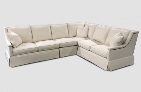 Awesome Lola Sectional With Nailhead Detailing Multiple Fabric Options Caraccident5 Cool Chair Designs And Ideas Caraccident5Info