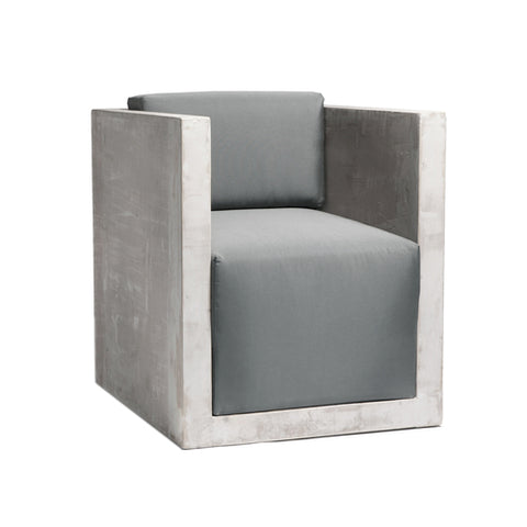 sc 1 st  Herringbone and Company & Modern Concrete Resin Outdoor Lounge Chair