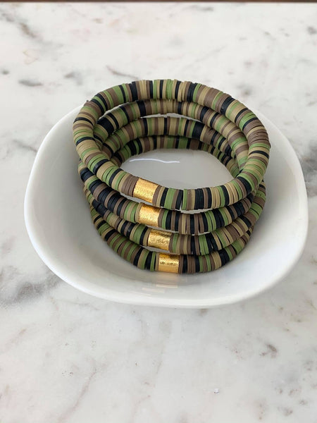 Camo Multi Color POP Bracelet