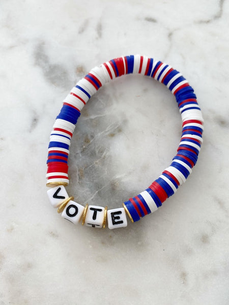 Vote Color Pop Bracelet