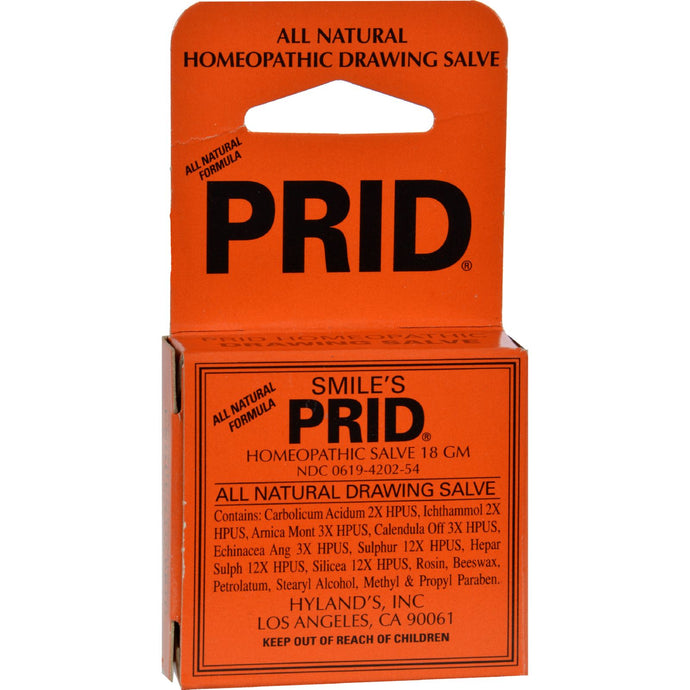 Hyland's Smile's Prid Drawing Salve - 18 G