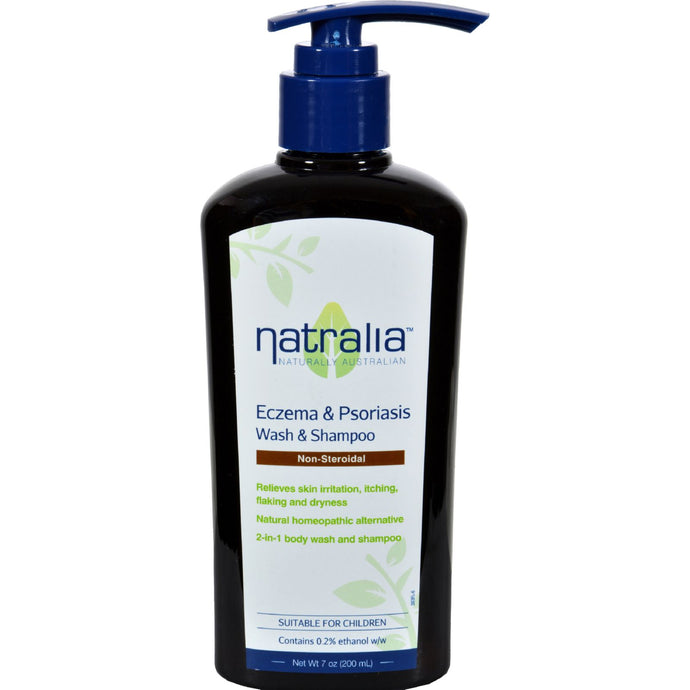 Natralia Eczema And Psoriasis Wash Concentrated Bath And Shower Formula - 7 Fl Oz