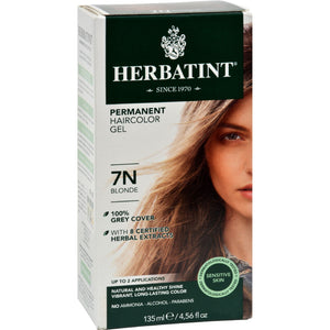 Herbatint Permanent Herbal Haircolour Gel 7n Blonde - 135 Ml
