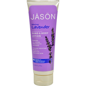 Jason Pure Natural Hand And Body Lotion Calming Lavender - 8 Fl Oz