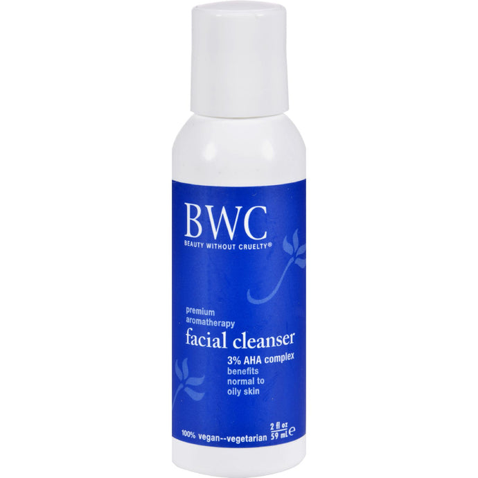 Beauty Without Cruelty Facial Cleanser Alpha Hydroxy Complex - 2 Fl Oz