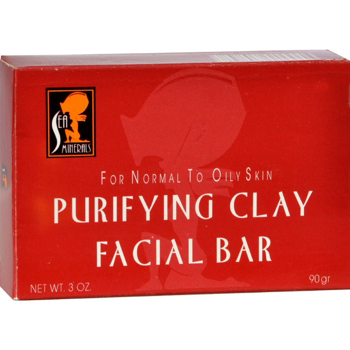 Sea Minerals Purifying Clay Soap - 3 Oz