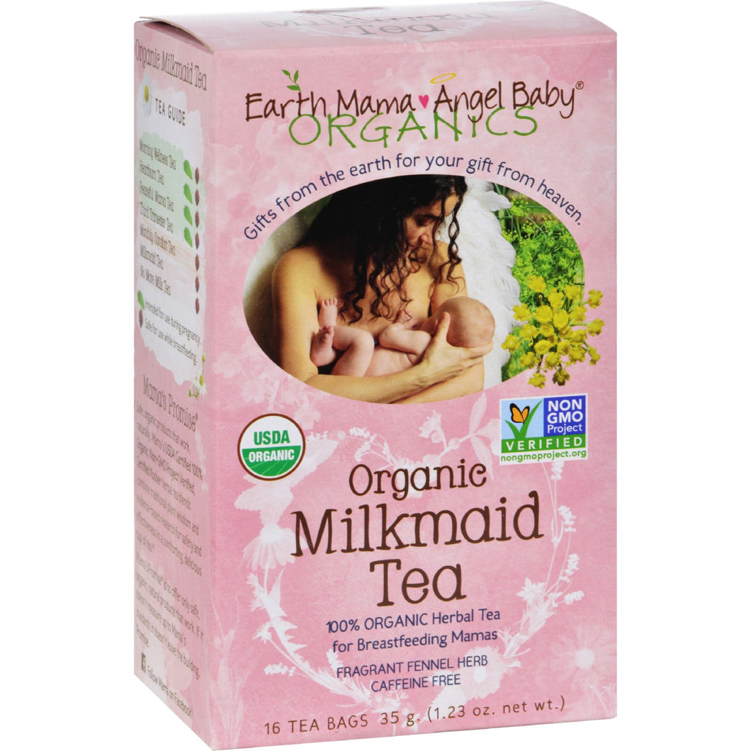 Earth Mama Angel Baby Organic Milkmaid Tea - 16 Tea Bags