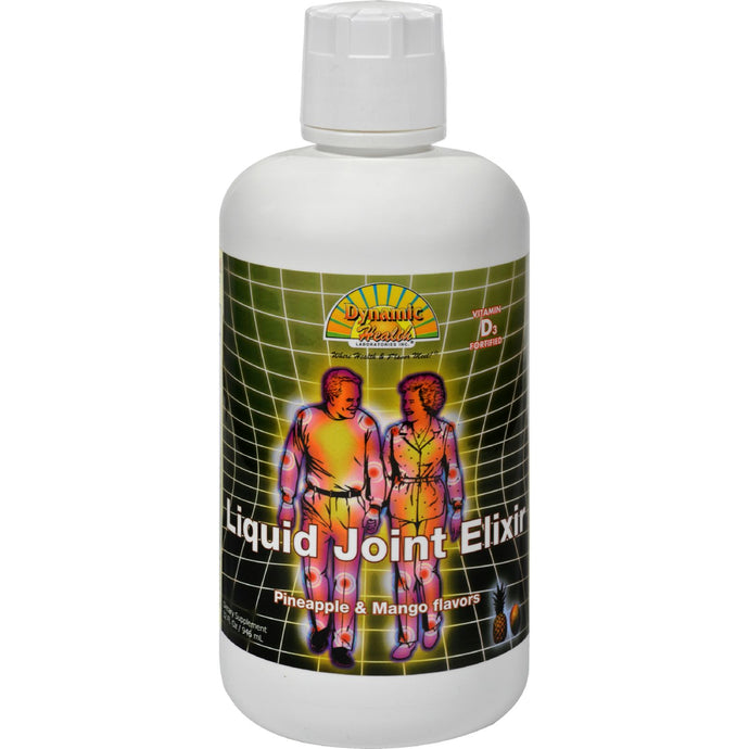 Dynamic Health Liquid Joint Elixir Pineapple And Mango - 32 Fl Oz