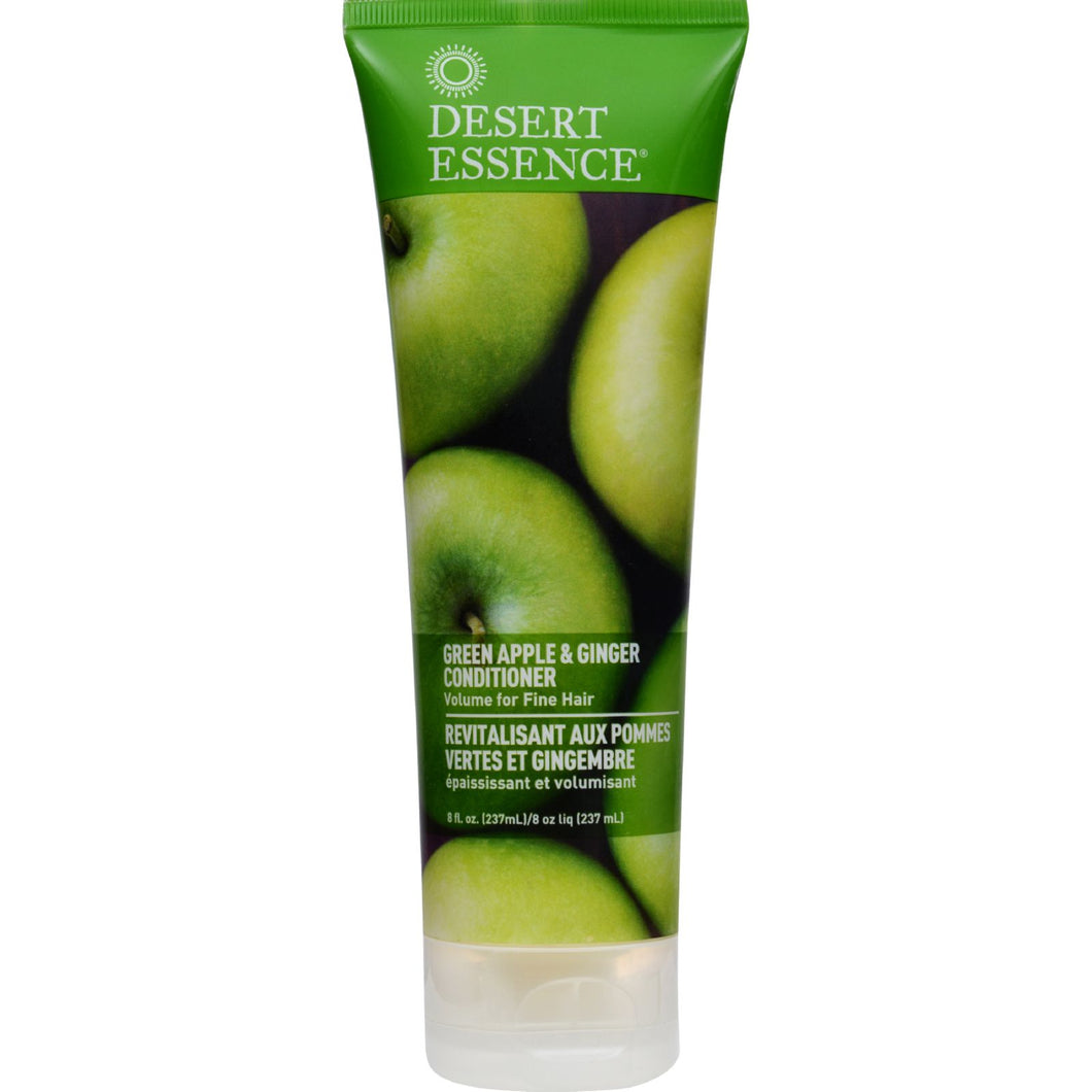 Desert Essence Thickening Conditioner Green Apple And Ginger - 8 Fl Oz
