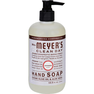 Mrs. Meyer's Liquid Hand Soap - Lavender - Case Of 6 - 12.5 Oz