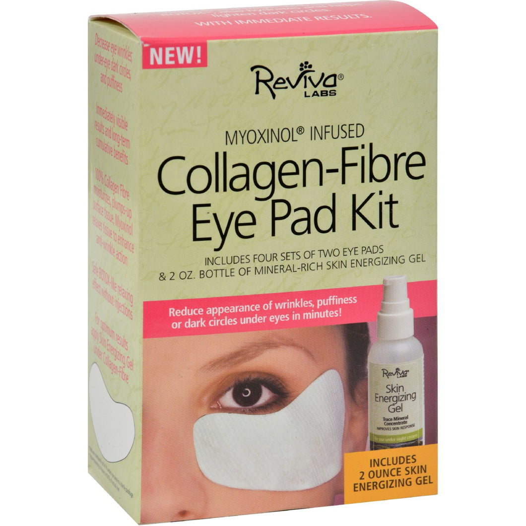 Reviva Labs Collagen Fibre Eye Pad Kit 2-pads - 2 Oz