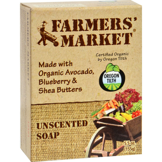 Farmer's Market Bar Soap Unscented - 5.5 Oz