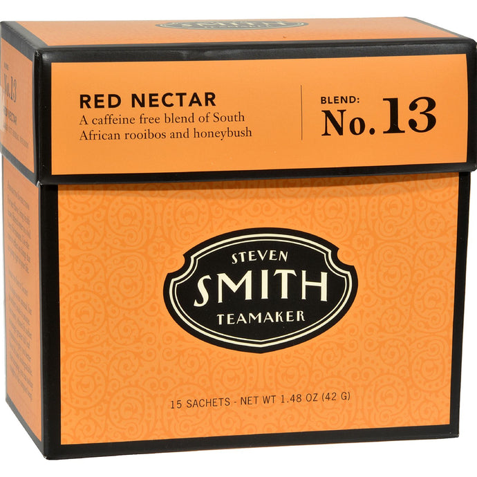 Smith Teamaker Herbal Tea - Red Nectar - Case Of 6 - 15 Bags