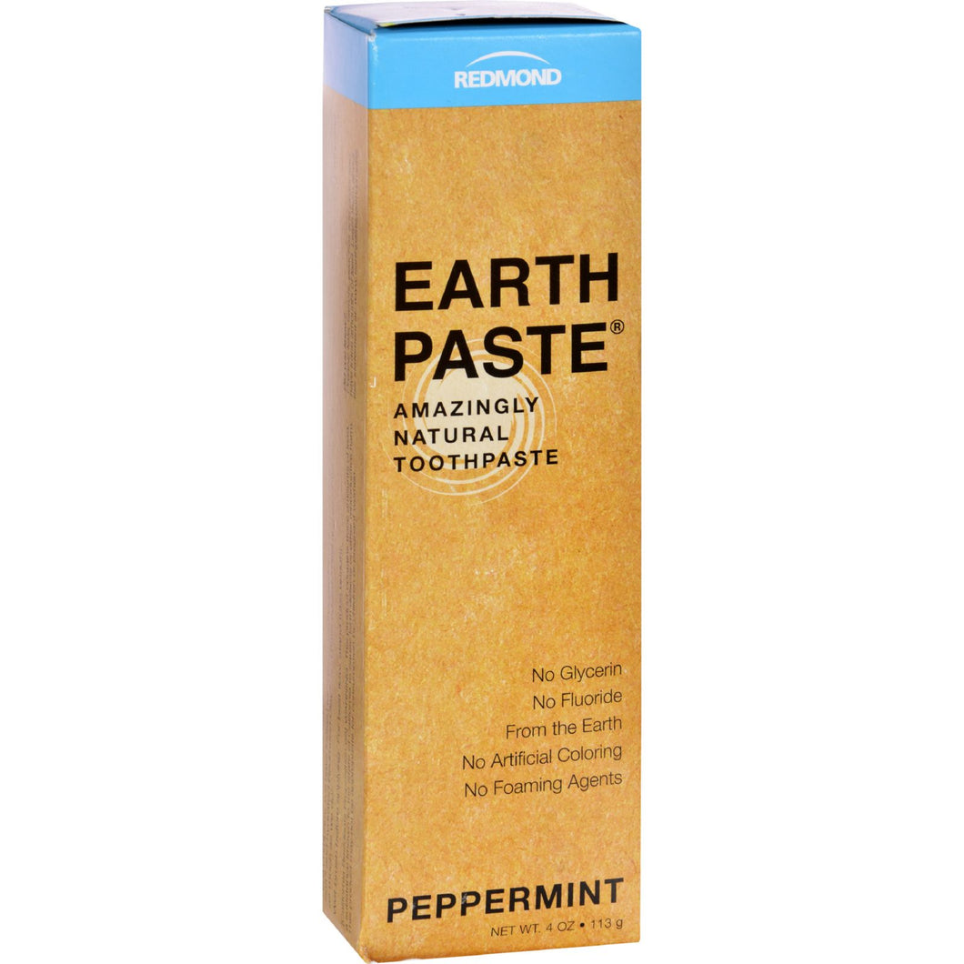 Redmond Trading Company Earthpaste Natural Toothpaste Peppermint - 4 Oz
