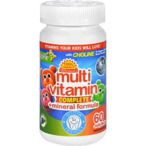 Yum V's Multi Vitamin Plus Mineral Formula Jellies Yummy Grape - 60 Chewables