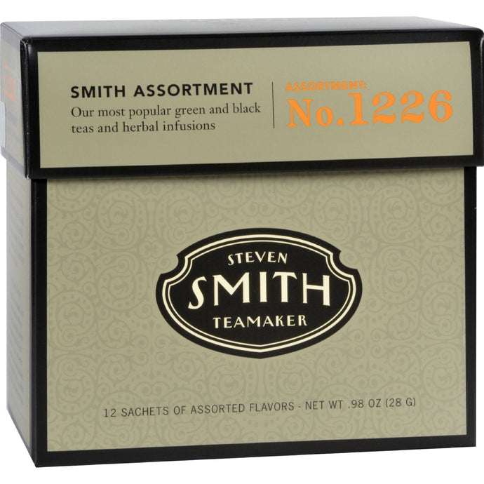 Smith Teamaker Tea - Assortment - Case Of 6 - 12 Bags