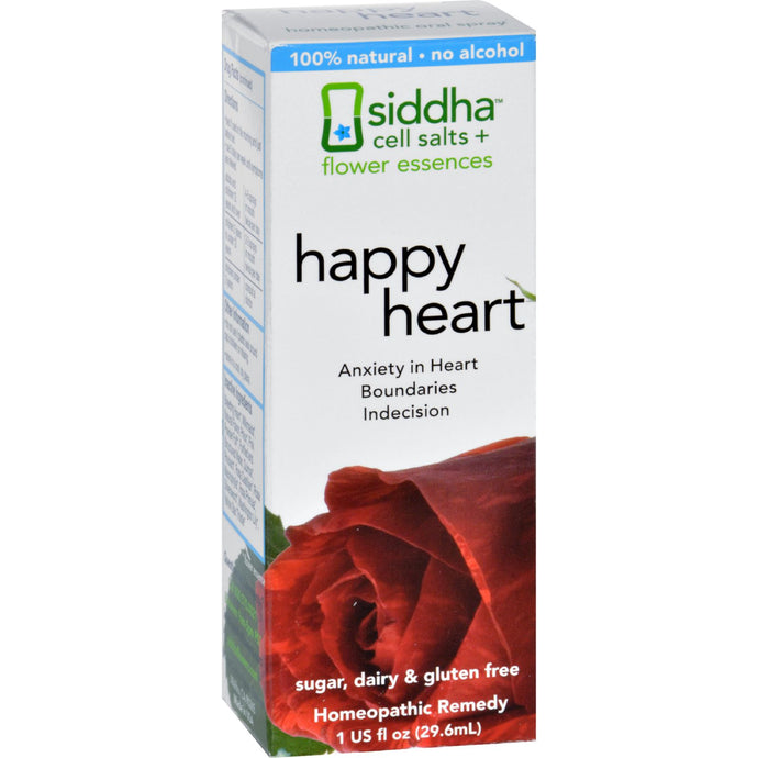 Siddha Flower Essences Heart - 1 Fl Oz