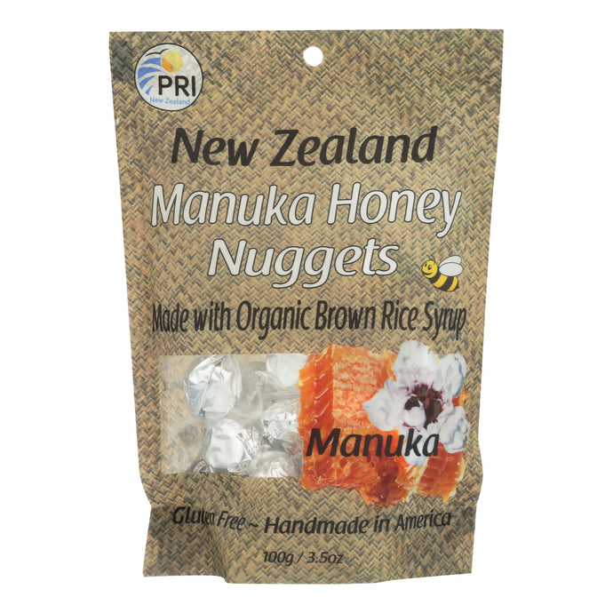 Pacific Resources Manuka Honey Nugget Candies - Case Of 6 - 3.5 Oz.