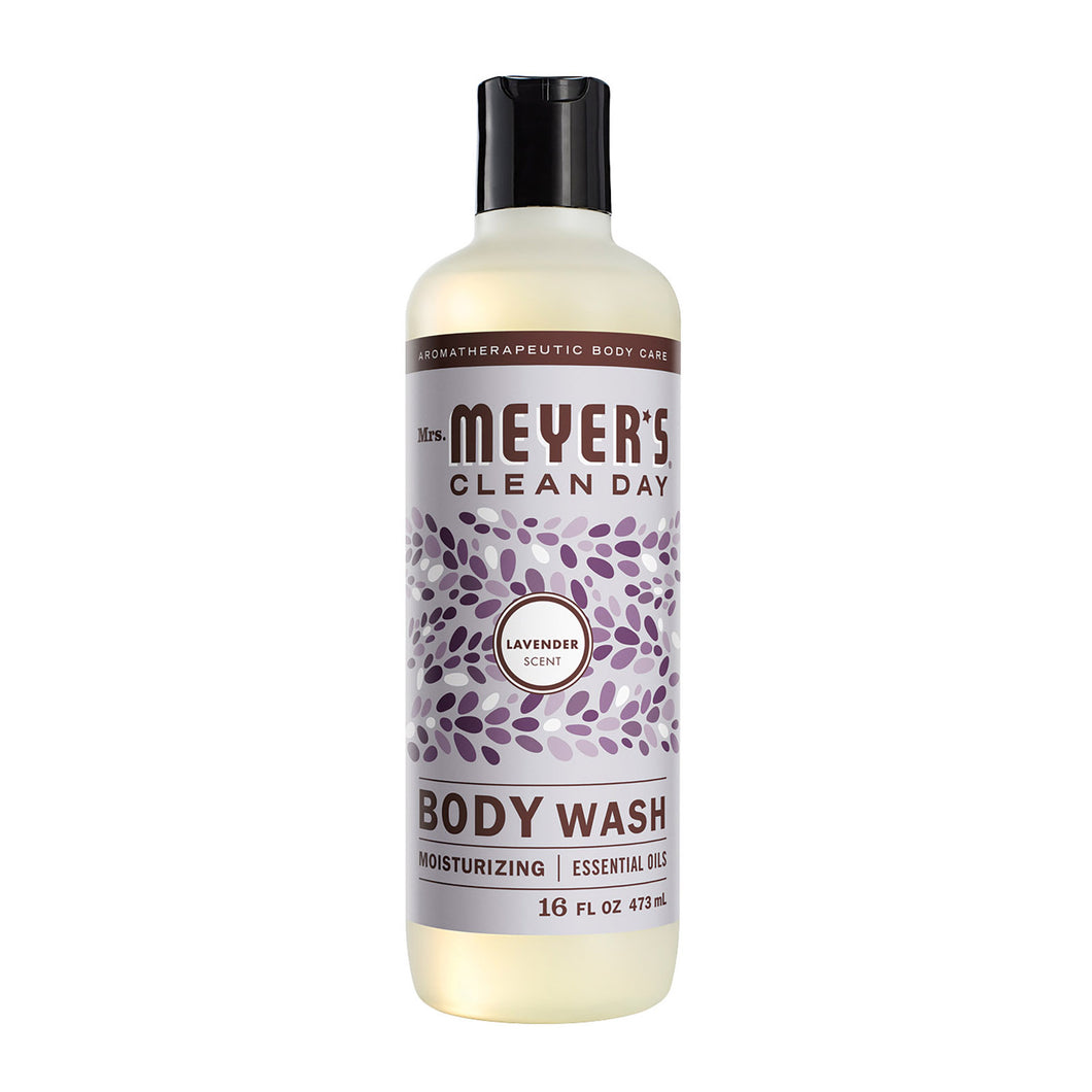 Mrs.meyers Clean Day Body Wash - Lavender - Case Of 6 - 16 Fl Oz