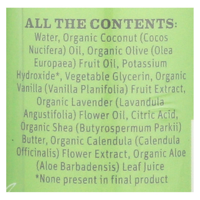 Earth Mama Baby Wash Calming Lavender - Case Of 5.3 - 5.3 Fl Oz.