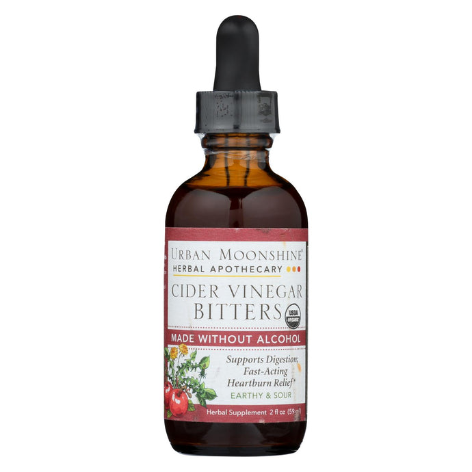 Urban Moonshine - Cider Vinegar Bitters - Dropper - 2 Fl Oz.