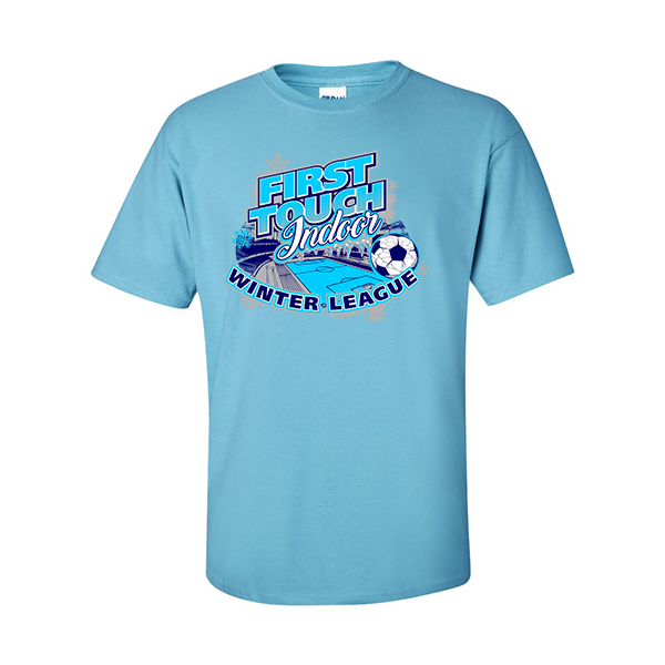 T-Shirts First Touch Indoor Winter League