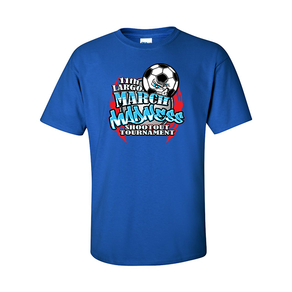 T-Shirts 11th Largo March Madness Soccer Shootout