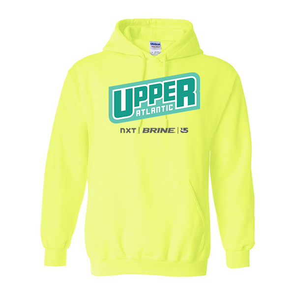 Neon Green Hoodie Upper Atlantic
