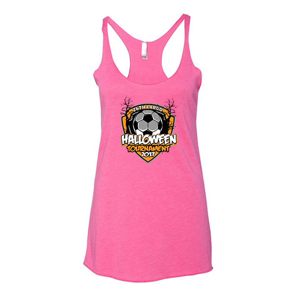 Premium Hot Pink Ladies Tank 26th Largo Halloween Tournament