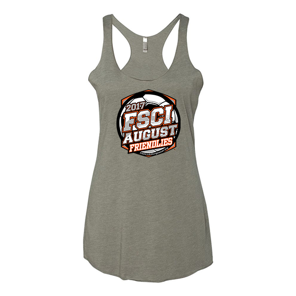 Premium Warm Grey Ladies Tank FSCI August Friendlies