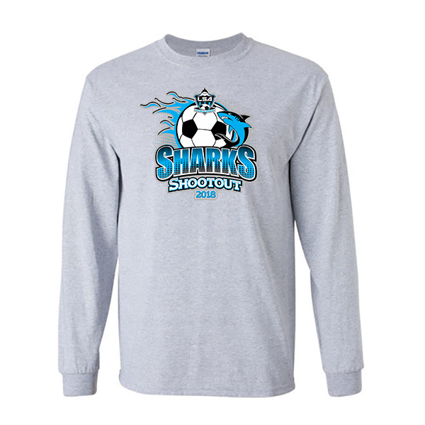 Long-Sleeve Shirts LSA Sharks Shootout