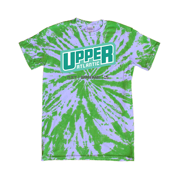 Green Tie-Dye T-Shirt Upper Atlantic