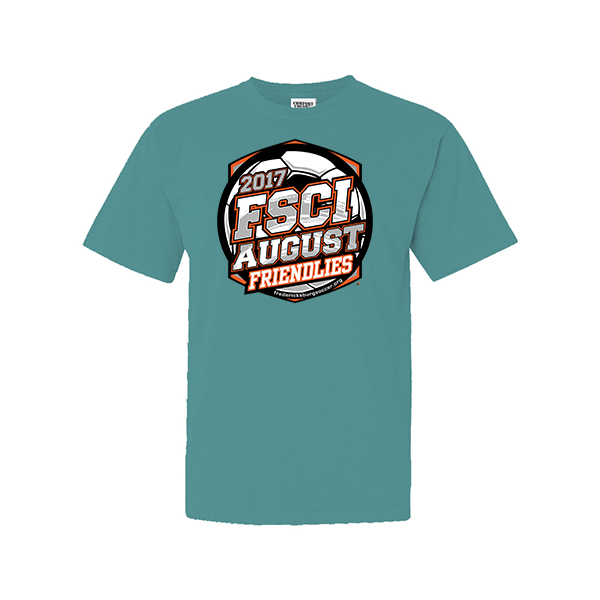 Comfort Colors Seafoam T-Shirt FSCI August Friendlies