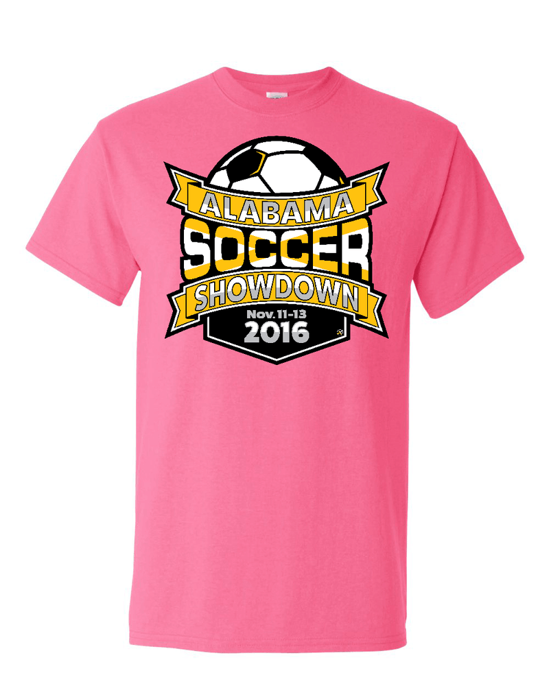 Neon Pink Alabama Soccer Showdown