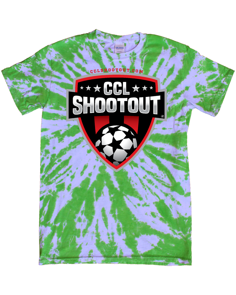 Green Tie-Dye T-Shirt CCL SHOOTOUT