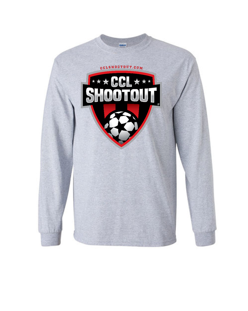 Grey Long-Sleeve Shirt CCL SHOOTOUT