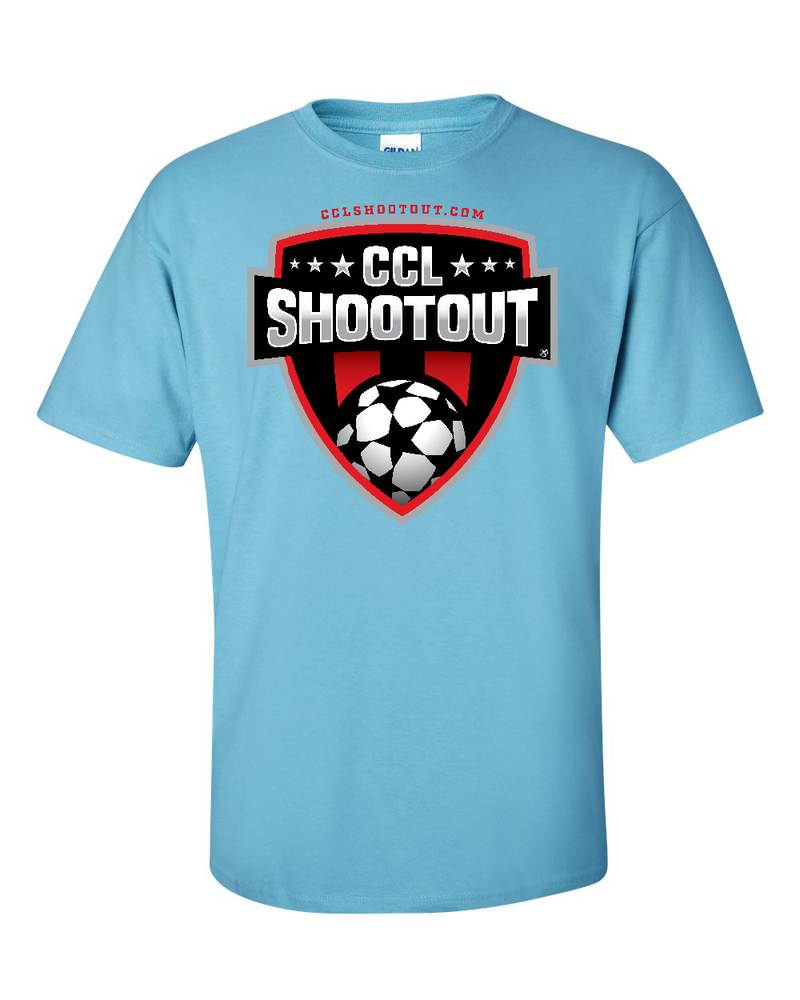 Sky Blue T-Shirt CCL SHOOTOUT