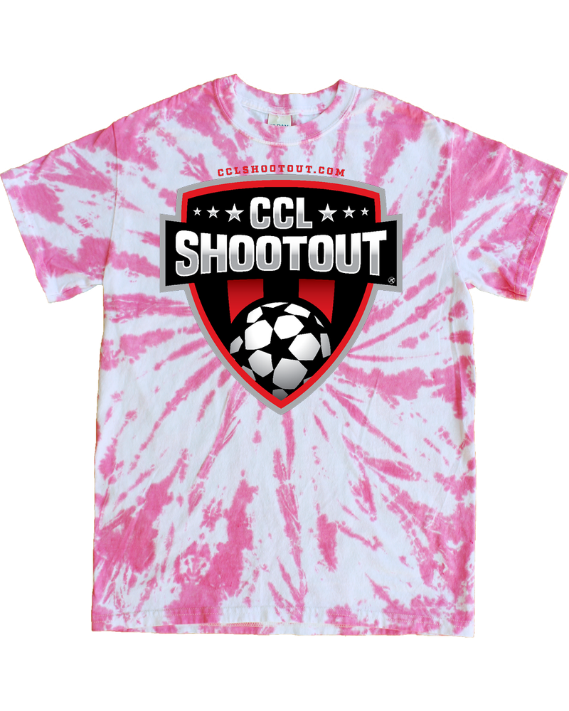 Pink Tie-Dye T-Shirt CCL SHOOTOUT
