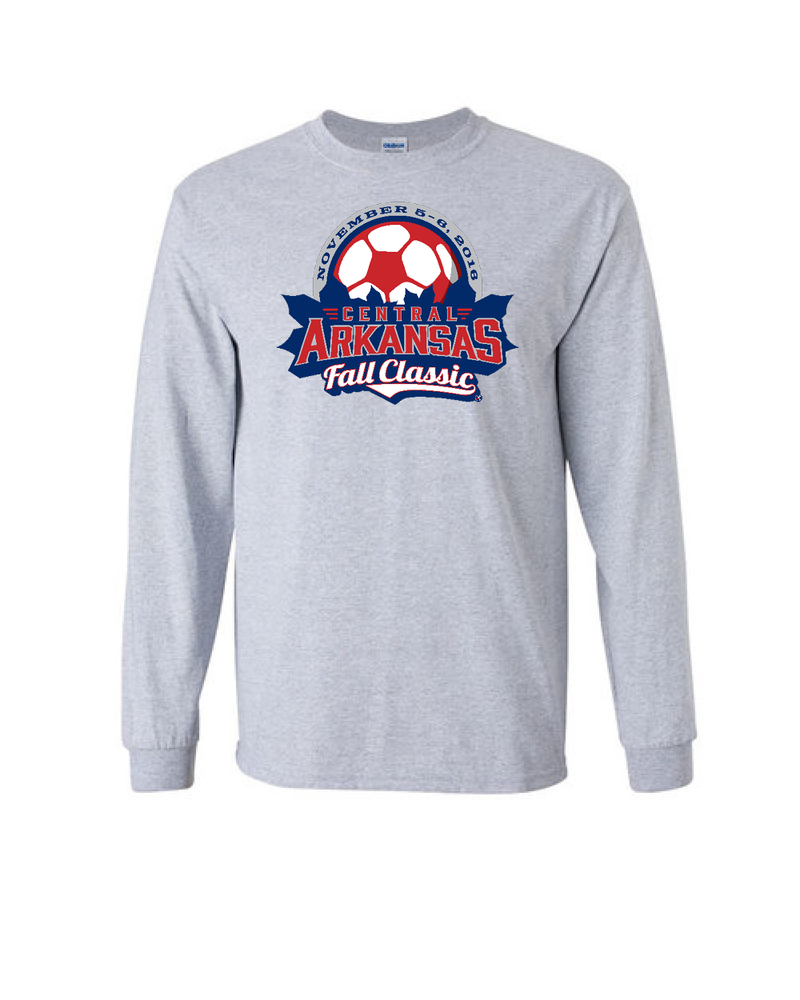 Grey Long-Sleeve Shirt Central Arkansas