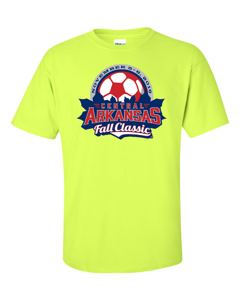 Neon Green T-Shirt Central Arkansas