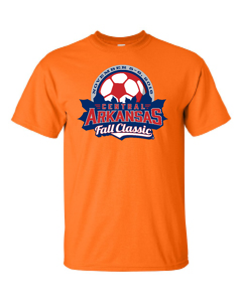 Neon Orange T-Shirt Central Arkansas