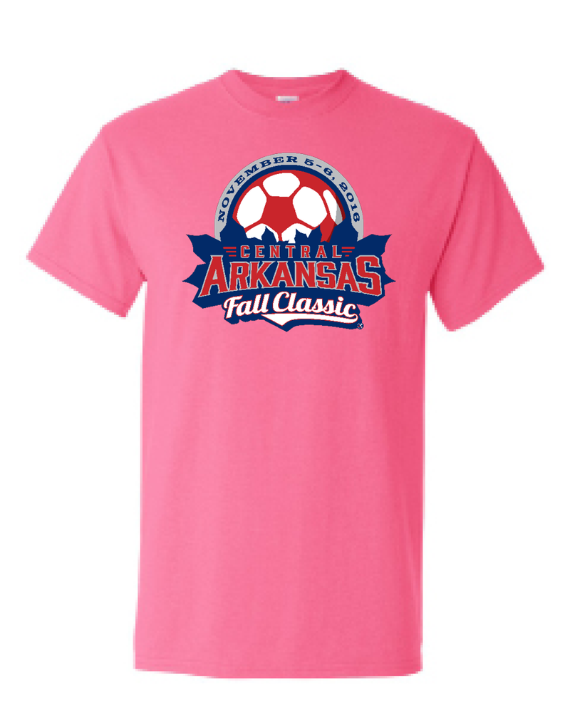 Neon Pink T-Shirt Central Arkansas