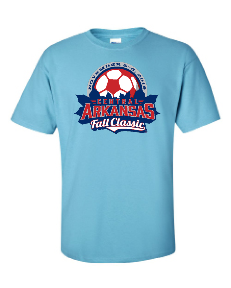 Sky Blue T-Shirt Central Arkansas