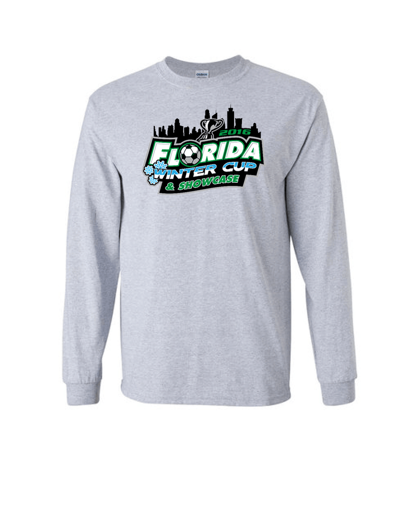 Grey Long-Sleeve Shirt Florida Winter Cup